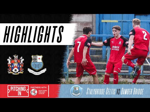 Stalybridge Bamber Bridge Goals And Highlights