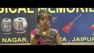 Vartika performing Kathak
