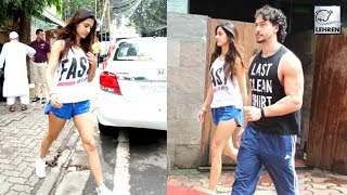 Disha Patani And Tiger Shroff Spotted Enjoying Lunch Together | LehrenTV