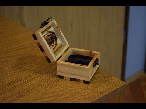 Making Wooden Ring/Earring Box from Tree Branch