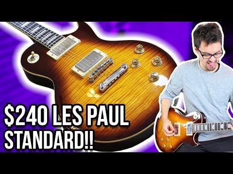 The Best Budget Les Paul?!    Harley Benton SC-550 Demo/Review