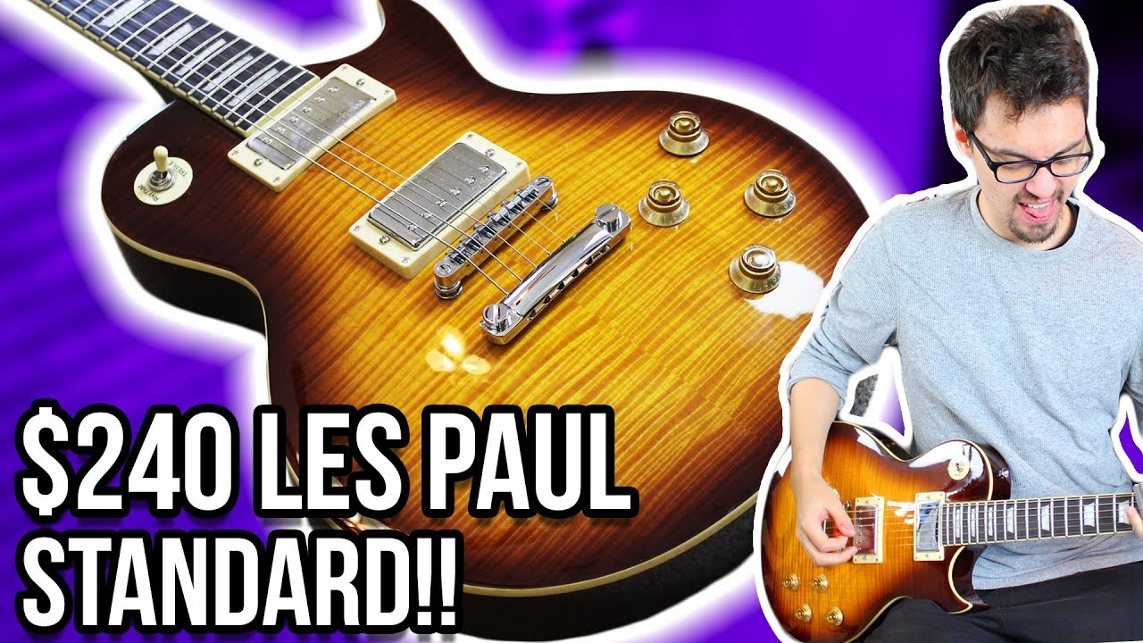 The Best Budget Les Paul?! || Harley Benton SC-550 Demo/Review