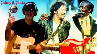 Johnny B Goode Subtitulada B Springsteen, C Berry & RollingBilbao 2017 guitar cover HD