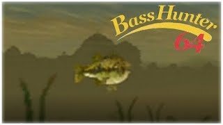 In-Fisherman Bass Hunter 64 Nintendo 64 Gameplay Walkthrough Part 8 - Tournament 7 Day 2!