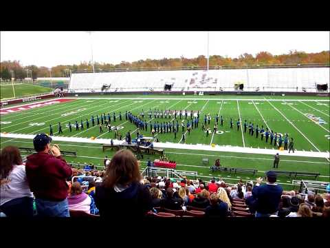 Marching Wildcat Band - SIU Carbondale Competition 2012