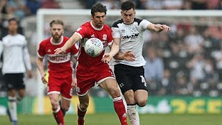 SHORT MATCH HIGHLIGHTS | Derby County Vs Middlesbrough