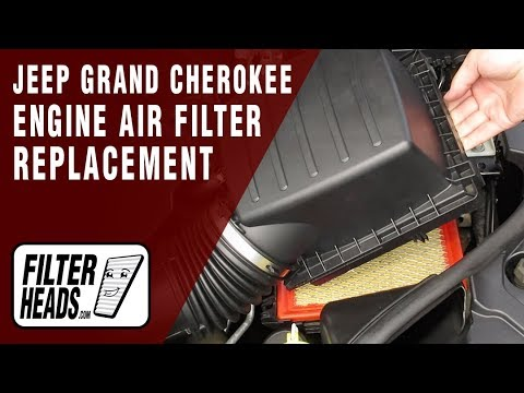How To Replace Engine Air Filter 2012 Jeep Grand Cherokee V6 3 6l