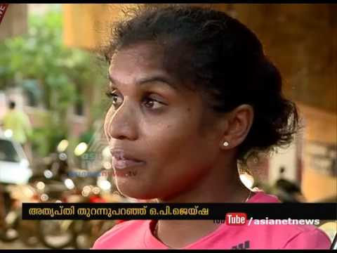 Kerala Sports Council neglecting O. P. Jaisha