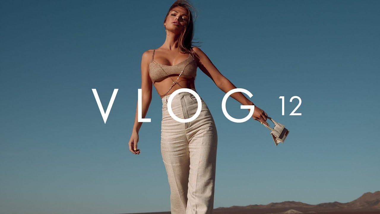 VLOG 12 | EL MIRAGE EDITORIAL SHOOT | DOSSIER PERFUME REVIEW | BOUTINELA BIKINI SHOOT | ANNA CASEY