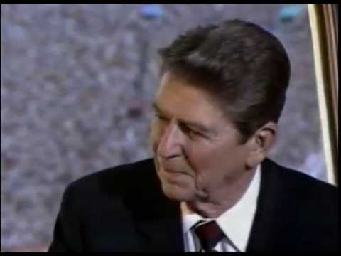 Long Lost Ronald Reagan Interview During 1984 Olympics:  Peace & the Games