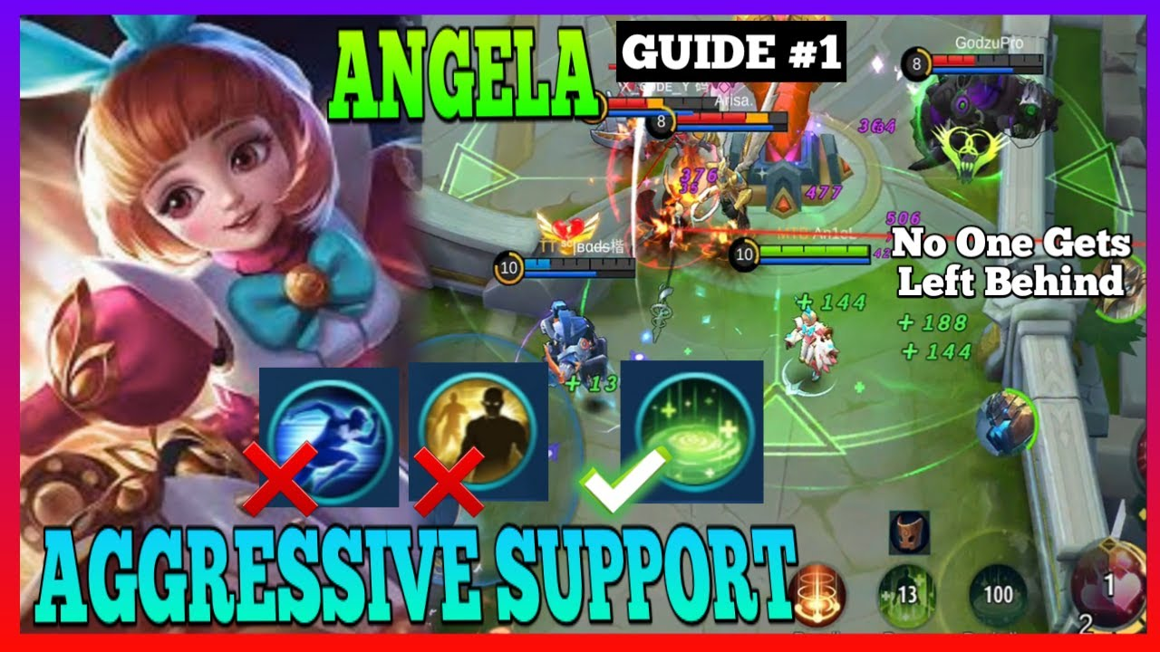 Angela Guide 1 | Be Aggressive from the Start | Master the Basics | Angela Gameplay | MLBB
