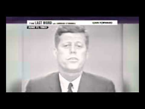 JFK admits Moors are Heirs to this land.
