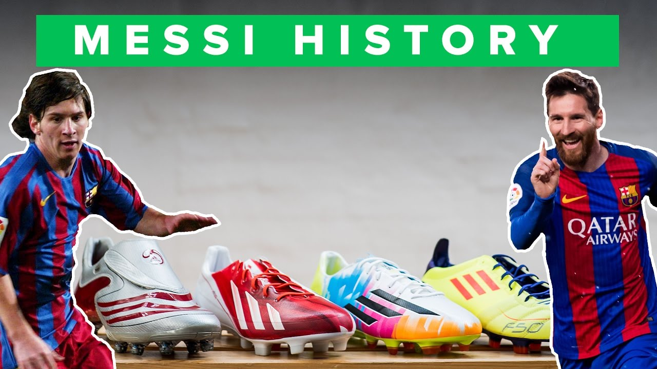 9f9a33859dd4 ALL adidas MESSI FOOTBALL BOOTS - WHICH IS BEST? - YouTube