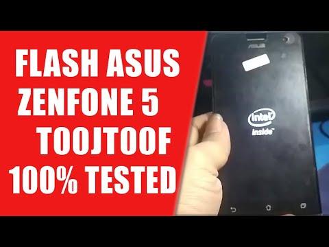 Cara masuk recovery mode/hard reset Asus zenfone5 T00J.