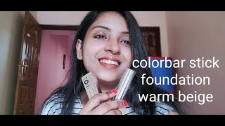 Colorbar stick foundation warm beige