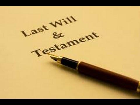 Testamento Olografo - Come si fa il testamento olografo?
