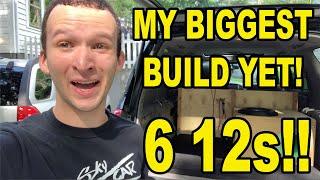 SUNDOWN AUDIO SHOW BUILD! 6 12…