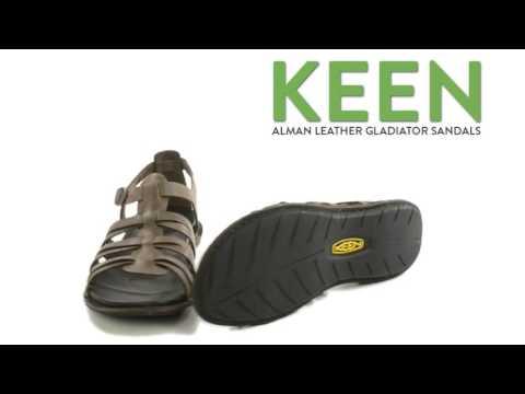 94d03431341 Keen Alman Leather Gladiator Sandals (For Women) - YouTube