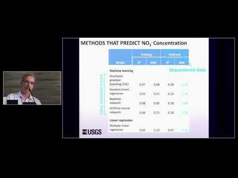 Bernard Nolan - A Statistical Learning Framework for Groundwater Nitrate Models