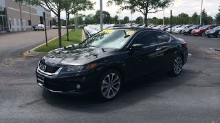 2013-2014 Honda Accord Coupe EX-L V6 6-speed (Start Up, In Depth Tour, and Review)