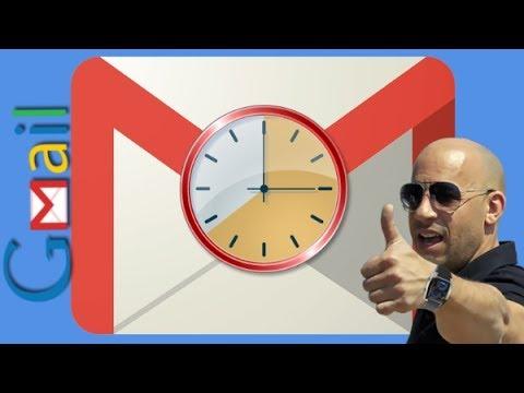 Как отправить письмо по расписанию в Gmail