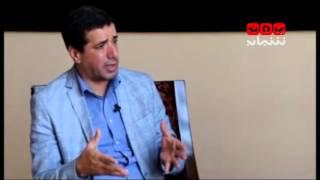 لقاء خاص مع الناطق الرسمي للحكومة اليمنية راحج بادي - حوار عبدالله دوبلة 4-10-2015 قناة يمن شباب