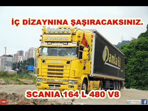 SCANIA 164 L 480 V8 WHAT IS IN THE TOPLINE / CABIN?