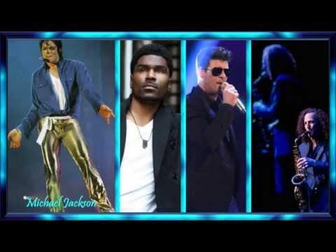 Fall Again ♥💐♥ Michael Jackson * Glenn Lewis * Robin Thicke * Kenny G