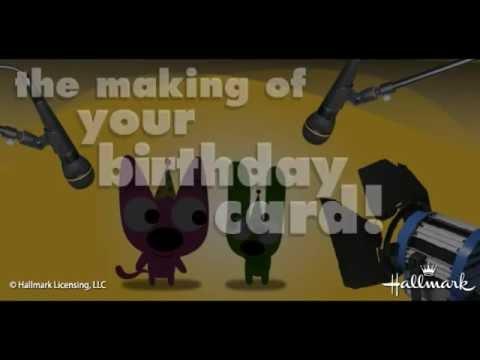 Hoops & Yoyo: Making Your Birthday Card