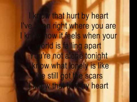 tracy lawrence I know that hurt by heart w/lyrics