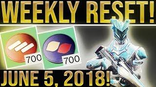 Destiny 2 Weekly Reset! FORSAKEN DLC REVEAL & ALL NEW FACTION RALLY!
