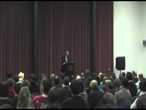 Peter Kreeft speaks at Rutgers on Faith & Science