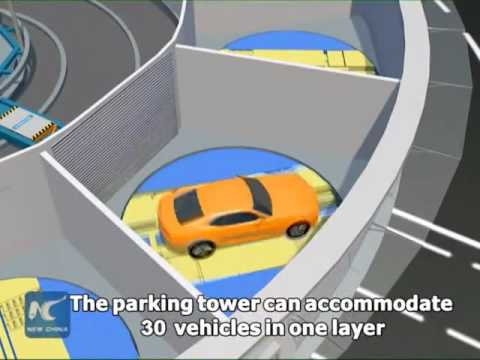 Automated parking lift systems unveiled in Beijing