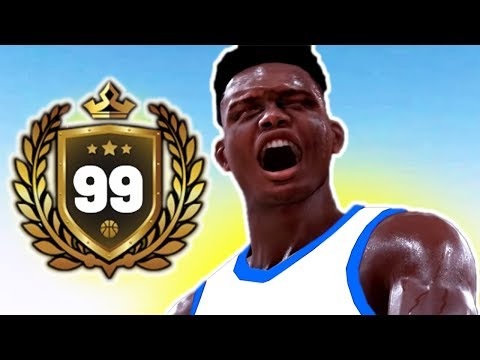 99 OVERALL ZION WILLIAMSON CRAZY CONTACT DUNKS NBA 2K19