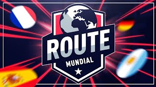 VUELVE ROUTE MUNDIAL !!! SORTEO DE GRUPOS, PARTICIPANTES & NORMAS