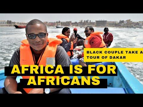 BLACK AMERICANS TOUR IN DAKAR WEST AFRICA!! #AfricaIsForAfricans