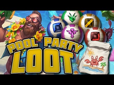 The Value of Pool Party Orbs