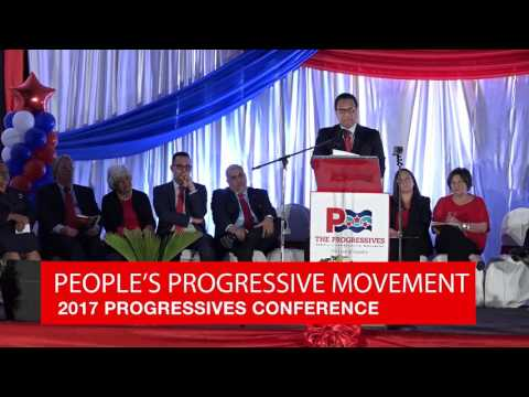 2017 Progressives Conference - Hon. Alden McLaughlin's speech