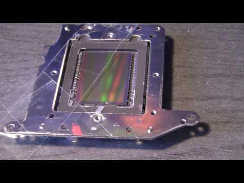 Debayering a Canon CMOS sensor: Removing glass Part II