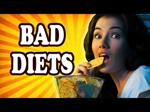 Top 10 TERRIBLE Diets to AVOID