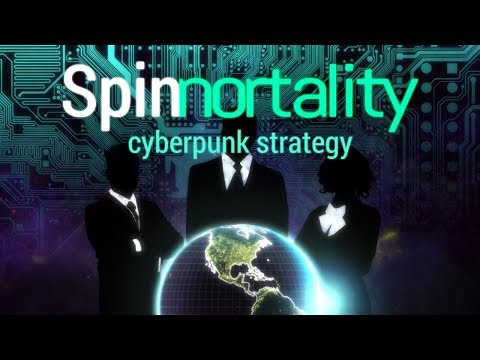 Spinnortality Gameplay - Cyberpunk Megacorporation Manager Sim!