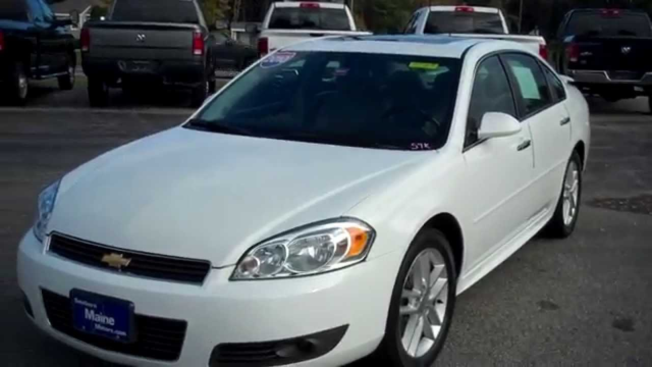 Best priced used 2010 chevrolet impala ltz stk 8549 for Southern maine motors saco maine