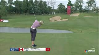 Brooke Henderson Second Round Highlights from the 2019 Buick LPGA Shanghai