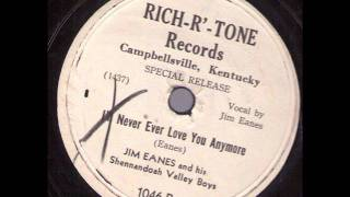 Jim Eanes and his Shennandoah Valley Boys  I