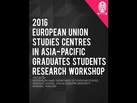 EU Centres in Asia Pacific: Graduate Student Presentations Session 2