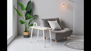 거실 소파옆에서 침대옆에서 1인용 사이드 테이블