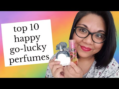 TOP 10 HAPPY PERFUMES TO LIFT YOUR MOOD