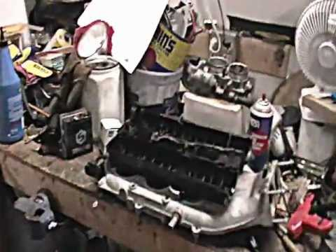 2003 cadillac cts engine diagram 1968 mustang wiring 03 cts, thermostat, valve cover intake manifold - youtube