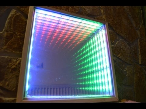 How to make LED color music with Infinity mirror Tutorial (level 1)