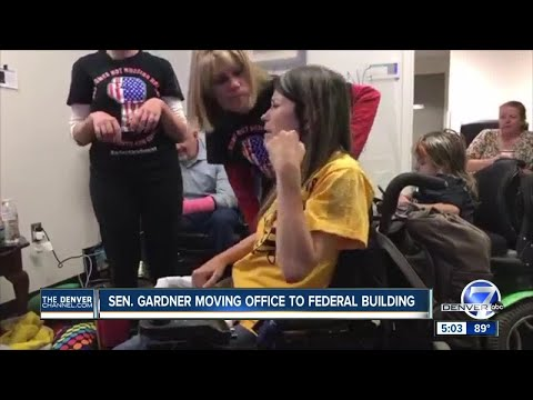 Sen. Cory Gardner moving Denver office after protest arrests